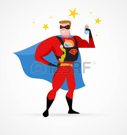 52823914-super-daddy-make-fun-in-superhero-costume-with-baby-carrier
